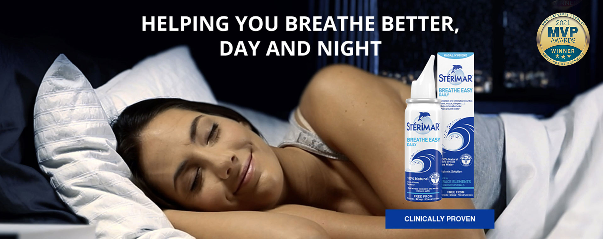 BREATHE BETTER, DAY AND NIGHT